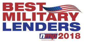 Best Military Lenders 2018
